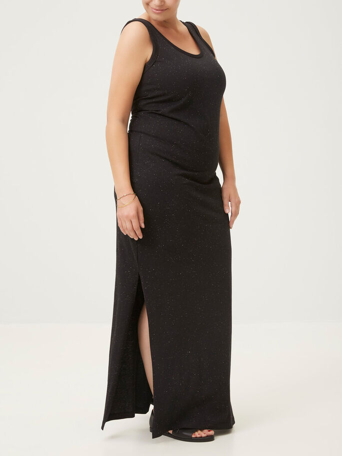 MAXI DRESS, Black, large