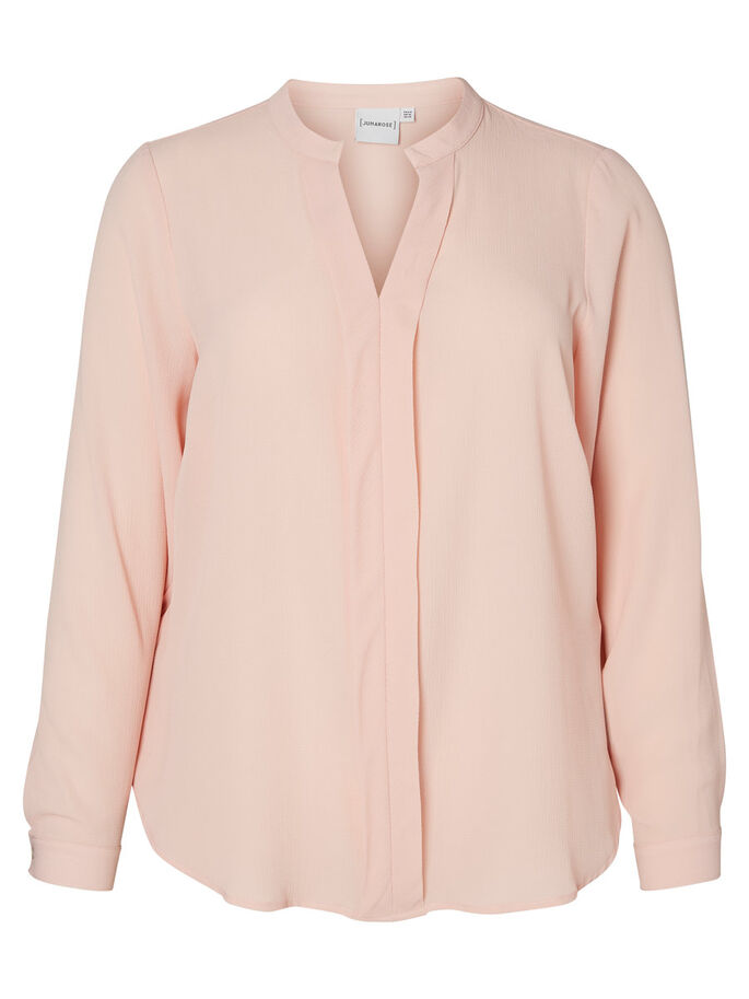 LONG SLEEVED BLOUSE, Misty Rose, large