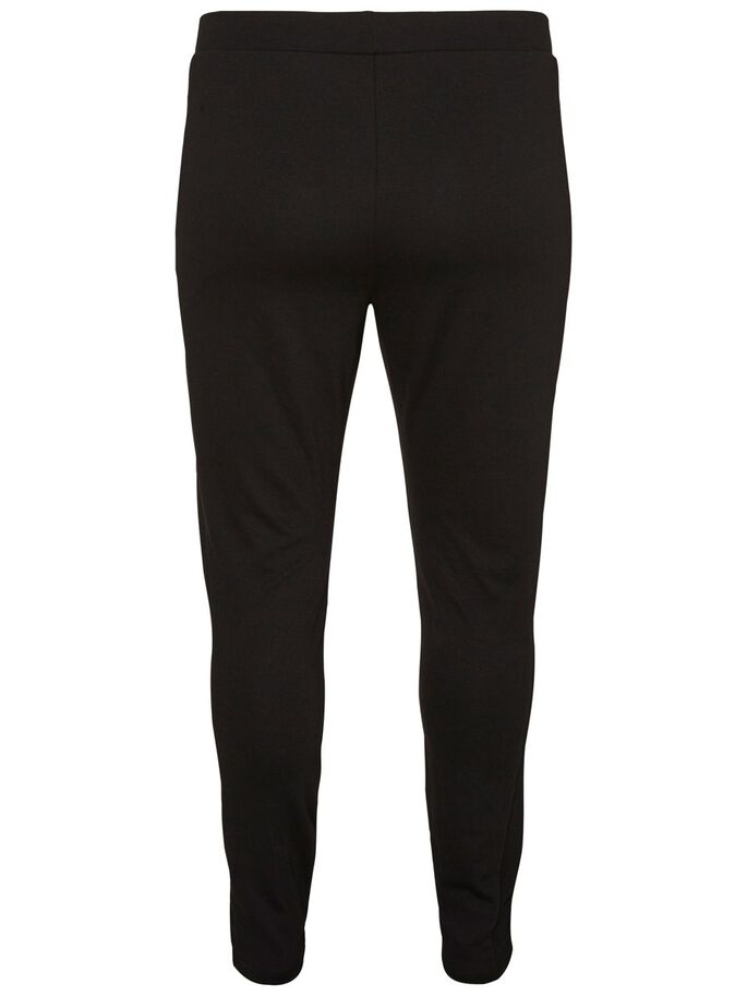 JERSEY LEGGINGS, Black, large
