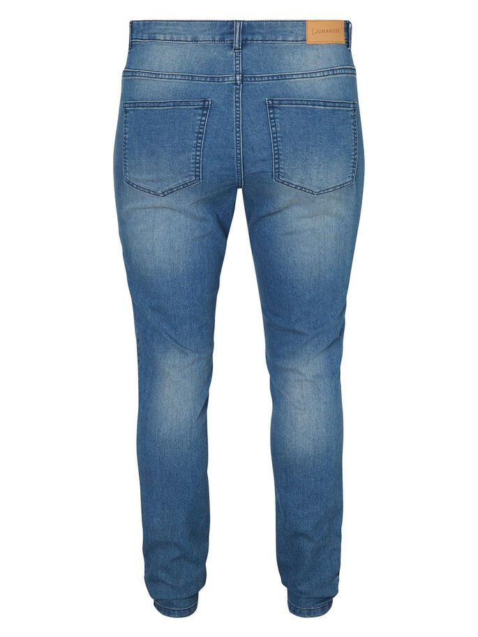 JRQUEEN JEAN, Medium Blue Denim, large