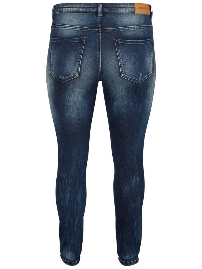 SLIM JEAN, Dark Blue Denim, large