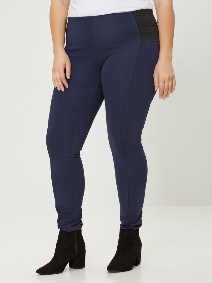 JERSEY LEGGING, Black Iris, large