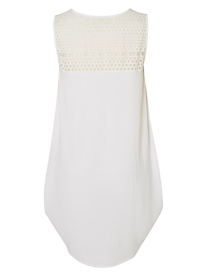 STRUCTURE DETAILED DRESS, Bright White, large
