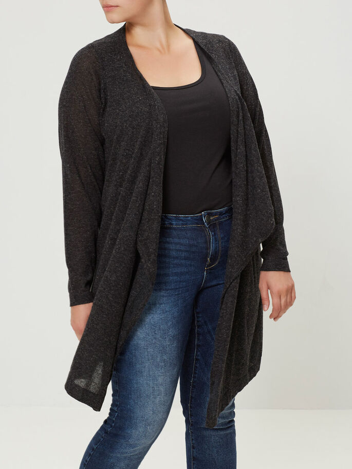 MAILLE CARDIGAN, Black, large