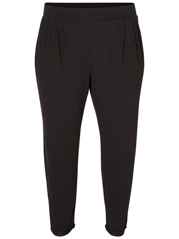 7/8 TROUSERS, Black, large