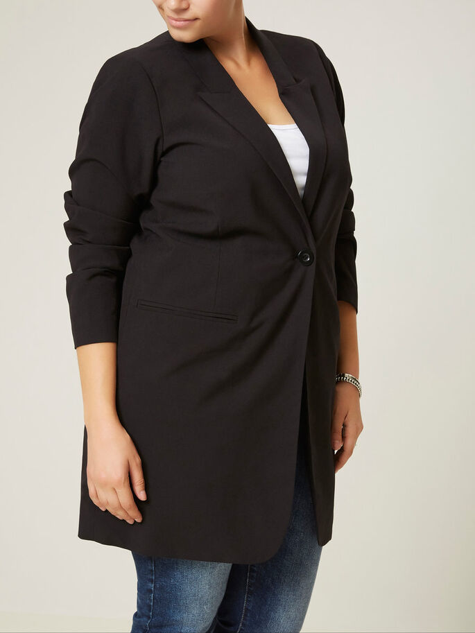 LANGER BLAZER, Black, large