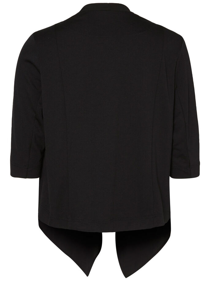 3/4-MOUW BLAZER, Black, large