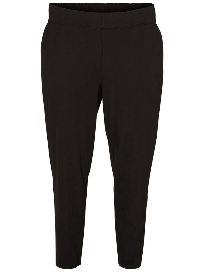 FEMININE PANTS, Black, large