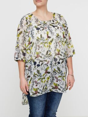 PRINTED 3/4 SLEEVED TUNIC