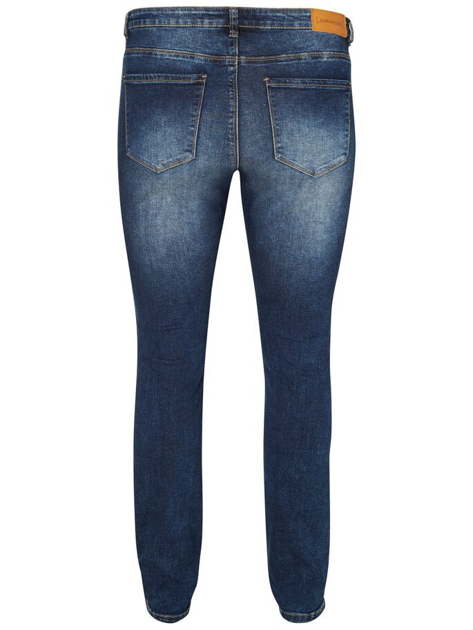 JRFIVE JEANS, Medium Blue Denim, large