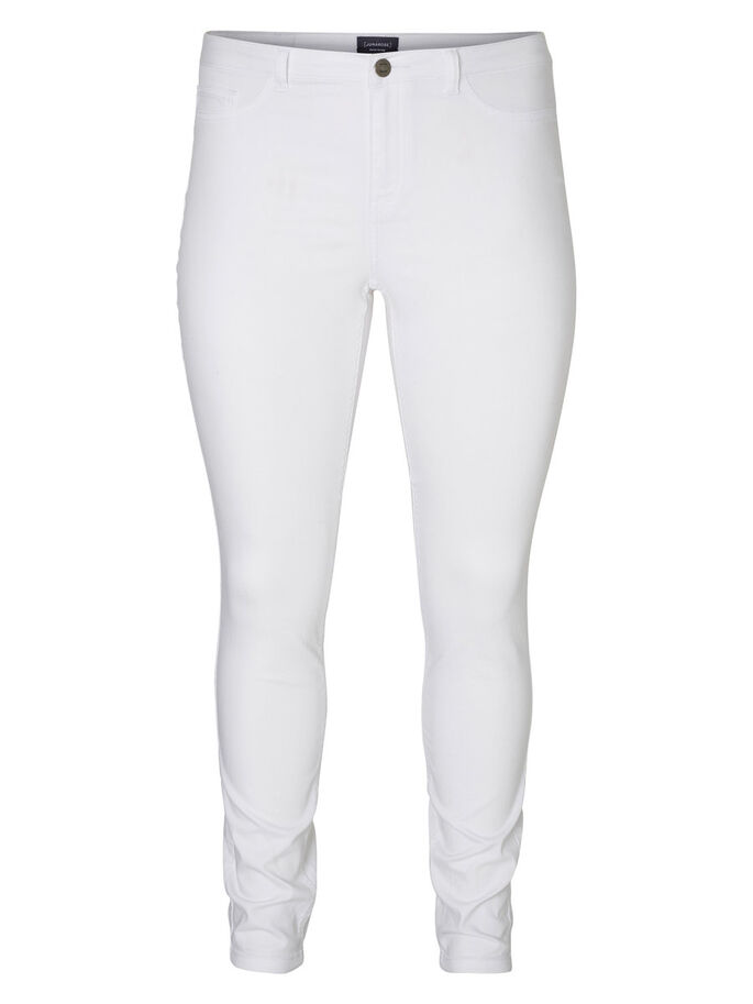JRQUEEN JEANS, Bright White, large