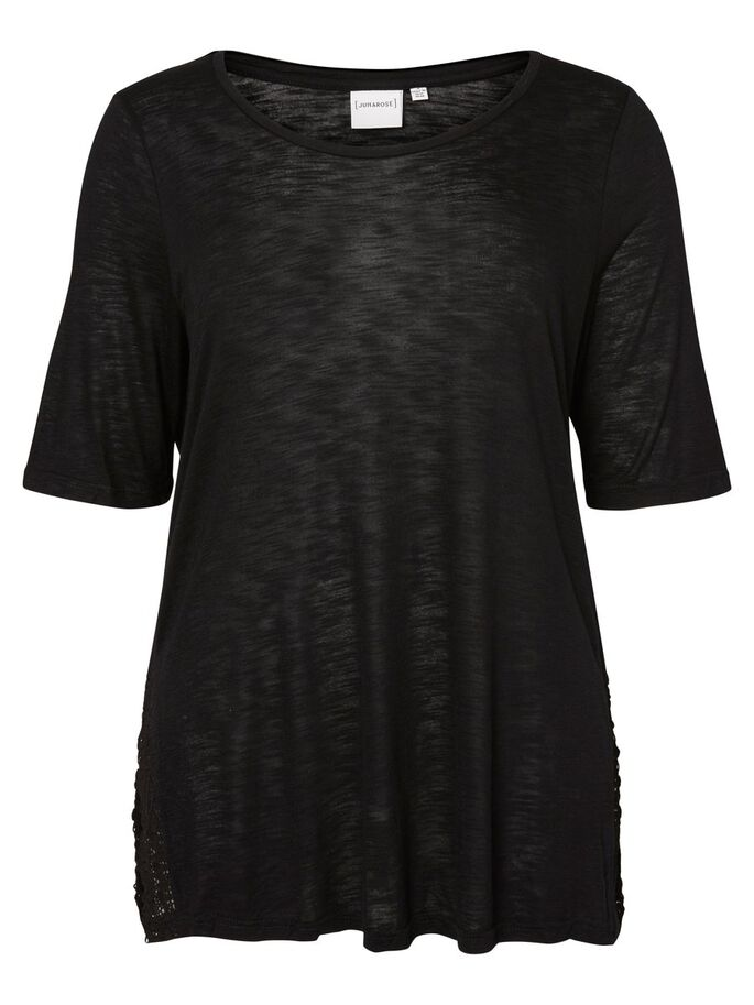 2/4-MOUW BLOUSE, Black, large