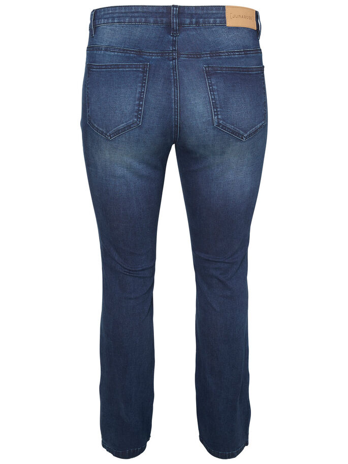 JESSIE BOOTCUT JEANS, Dark Blue Denim, large