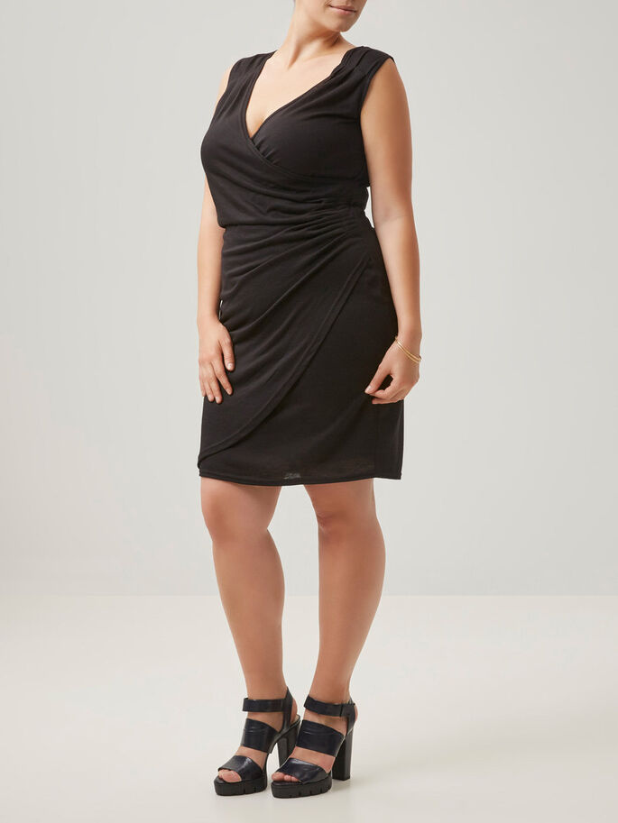 DELICATE DRESS, Black, large