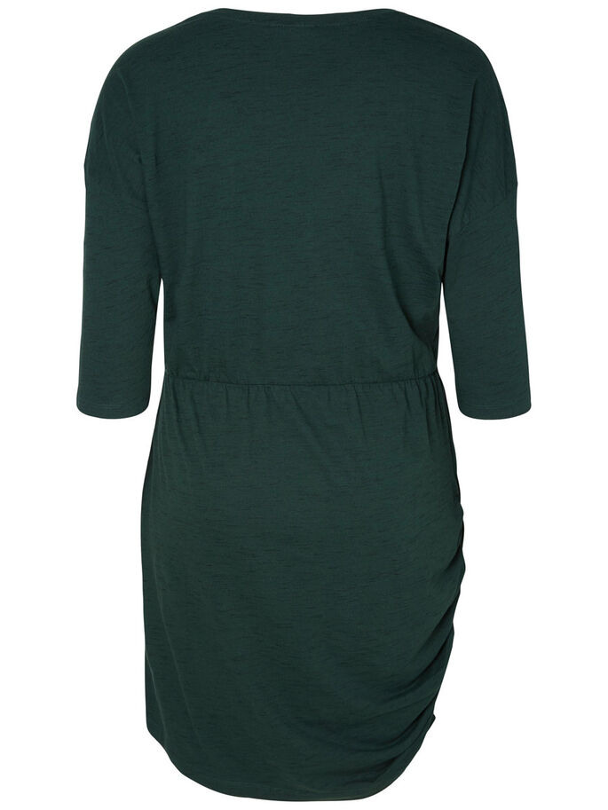 3/4 SLEEVED DRESS, Pine Grove, large