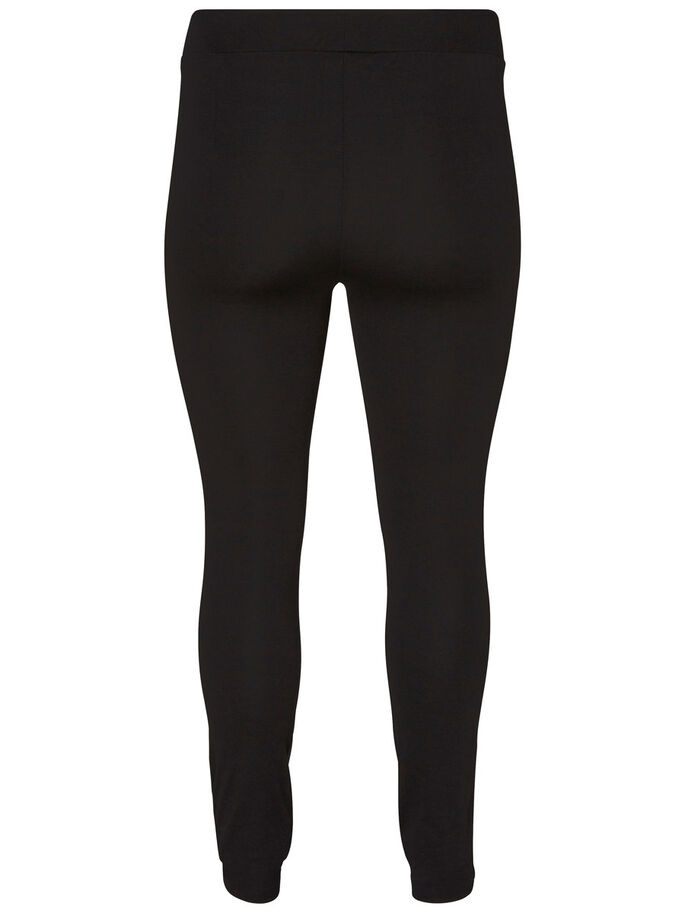 SLIM LEGGINGS, Black, large