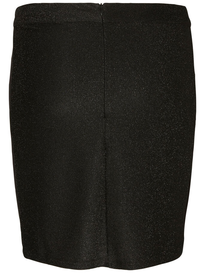 SLIM SKIRT, Black, large