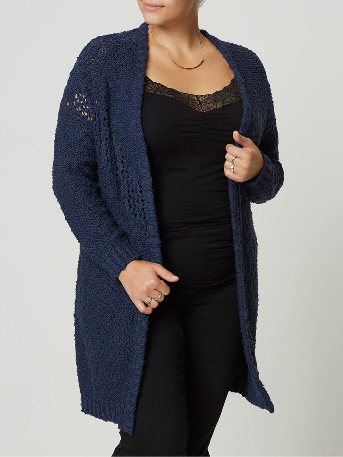 AMPLE CARDIGAN, Black Iris, large