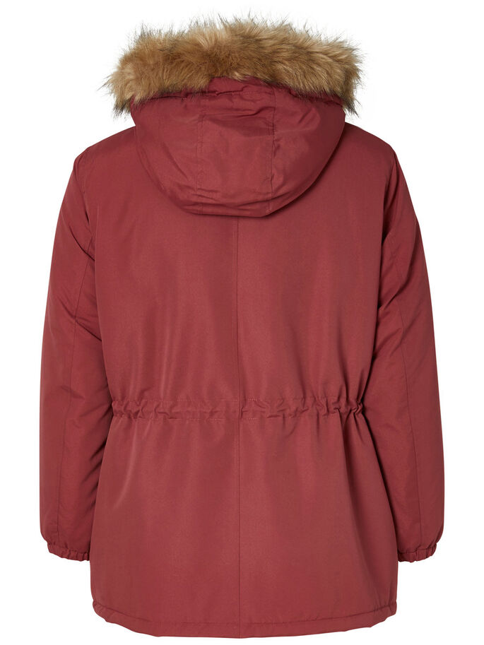 PARKA JACKET, Maroon, large