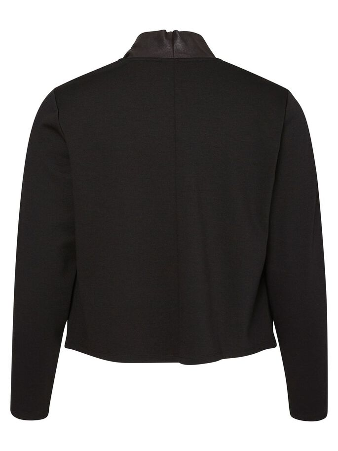 LONG SLEEVED JACKET, Black, large