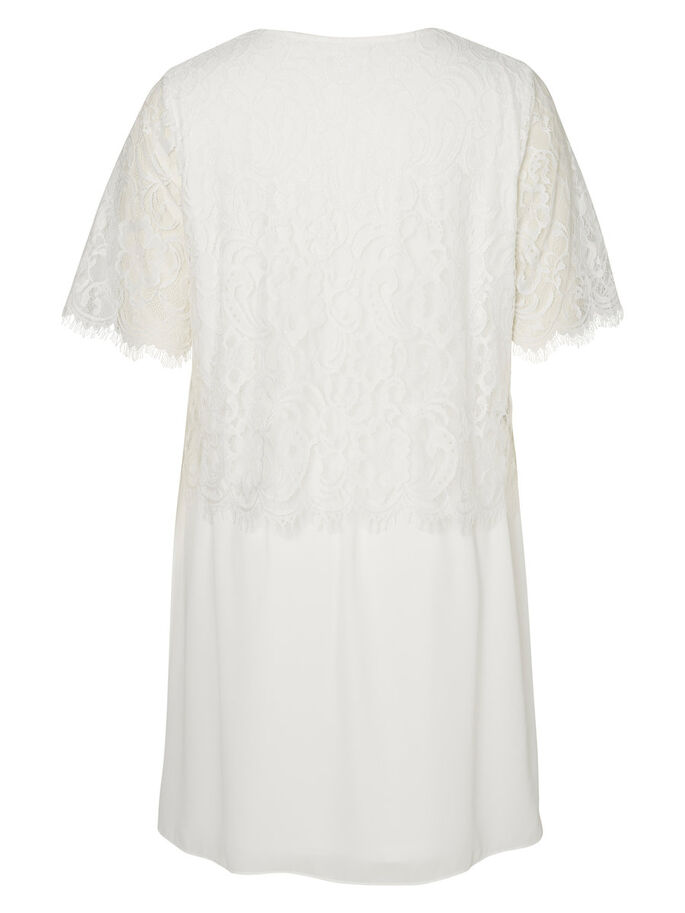 LACE DETAILED DRESS, Snow White, large