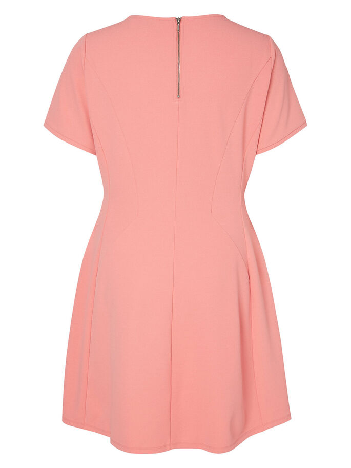 SHORT SLEEVED DRESS, Tea Rose, large
