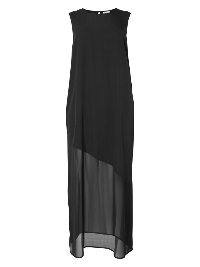 MAXI- KLEID, Black, large