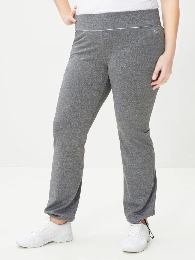 SPORTS TROUSERS, Medium Grey Melange, large