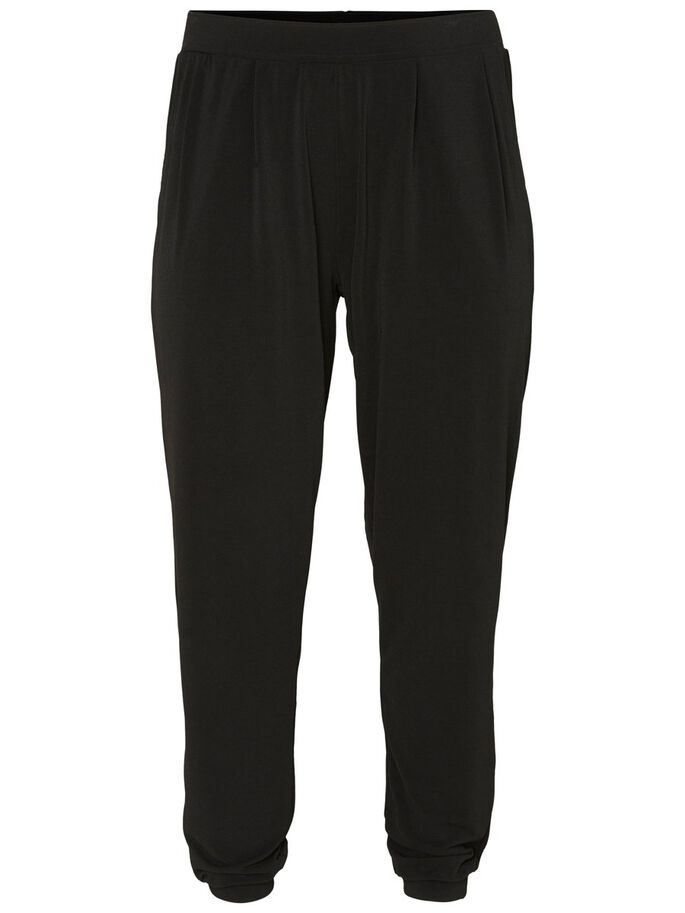 LOOSE TROUSERS, Black Iris, large