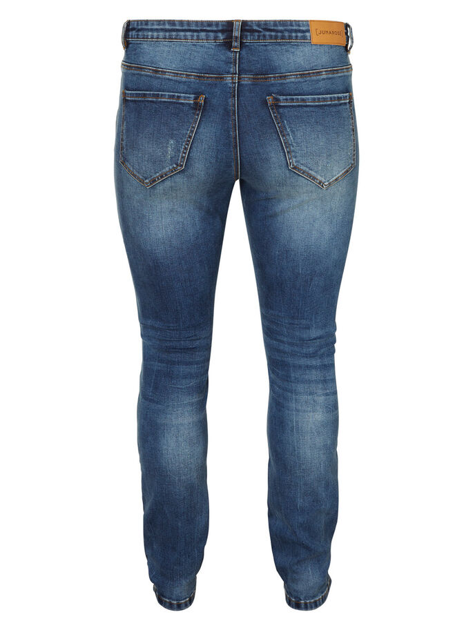 JRFIVE JEAN SLIM, Medium Blue Denim, large