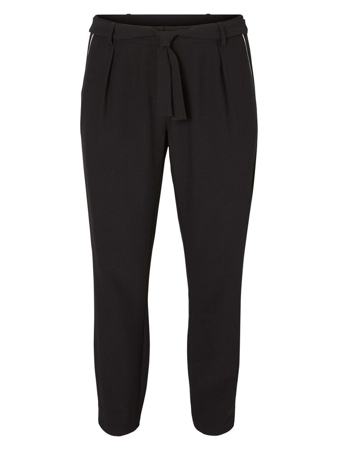 JERSEY TROUSERS, Black, large