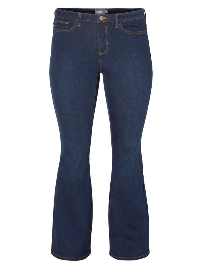 JRTWIG BOOTCUT JEANS, Dark Blue Denim, large