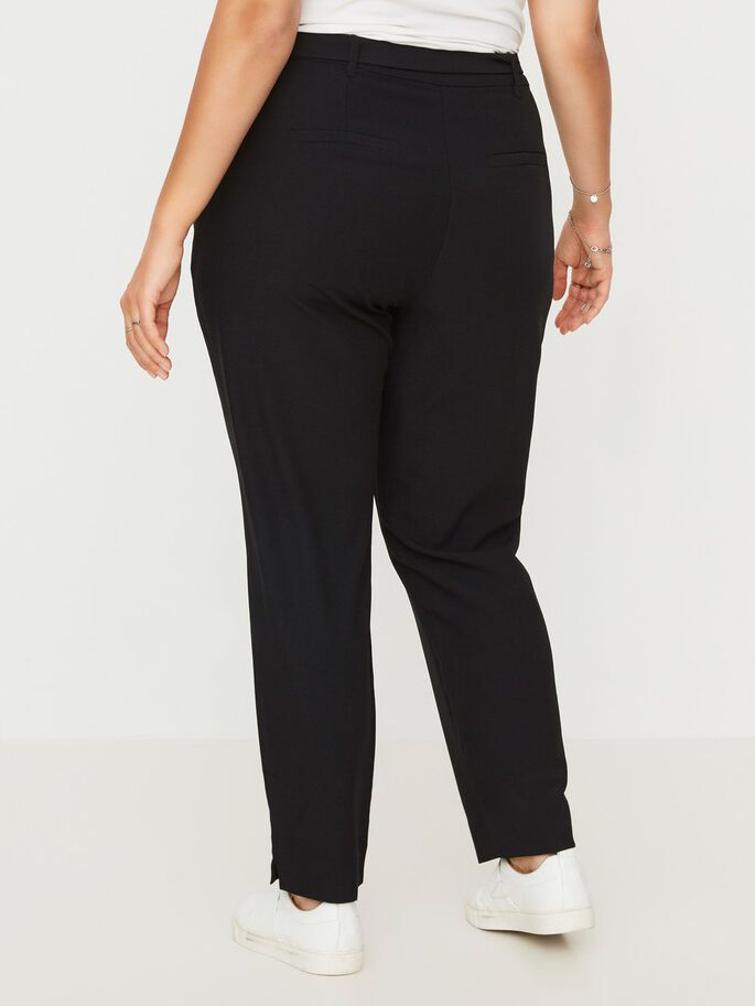 JERSEY BROEK, Black, large