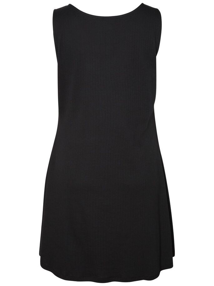 SLEEVELESS DRESS, Black Beauty, large