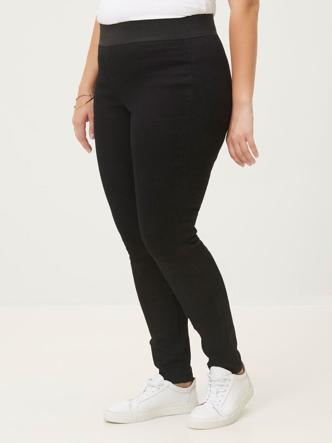 SKINNY- JEANS, Black, large