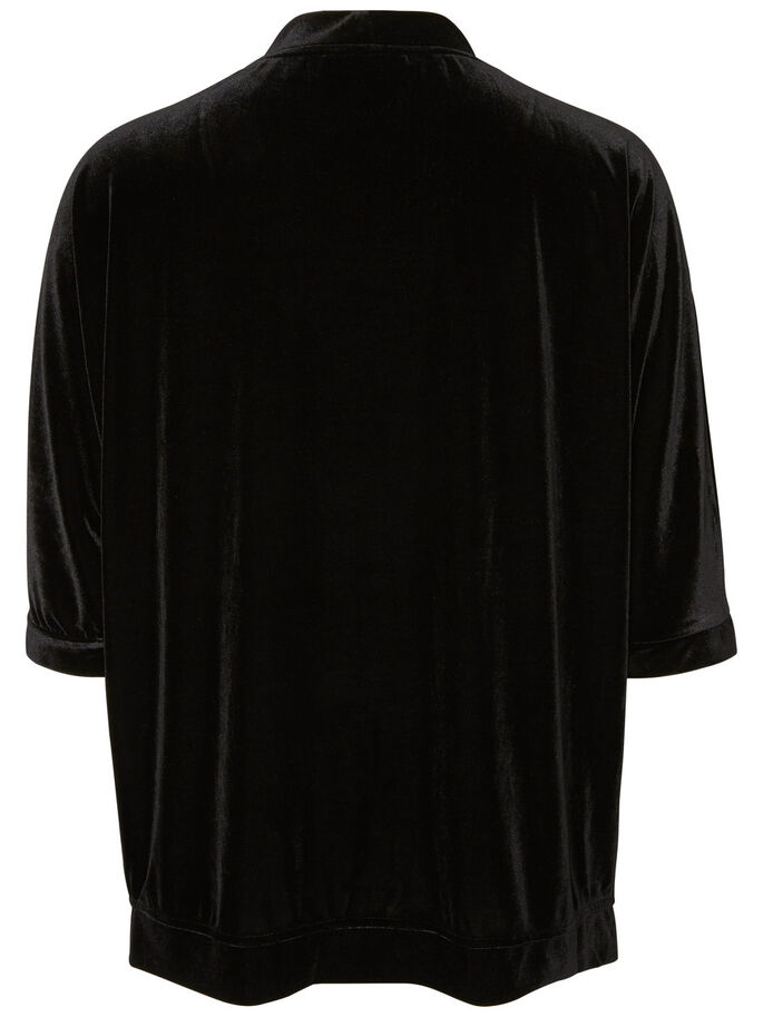 AMPLE CARDIGAN, Black, large