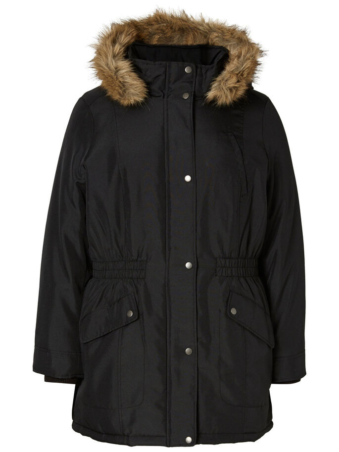 PARKA JAS, Black, large