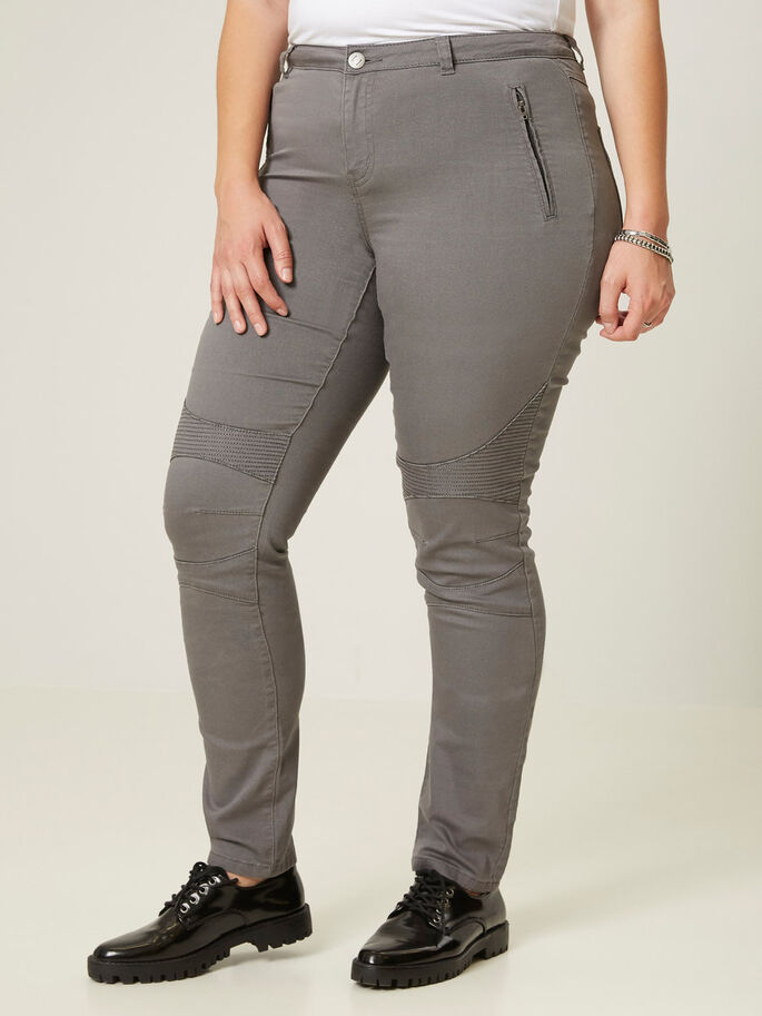 LONG JEGGINGS, Pewter, large