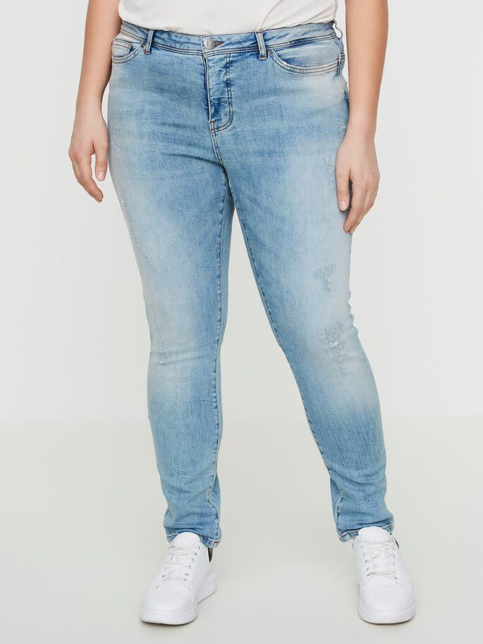 SLIM JEAN, Light Blue Denim, large