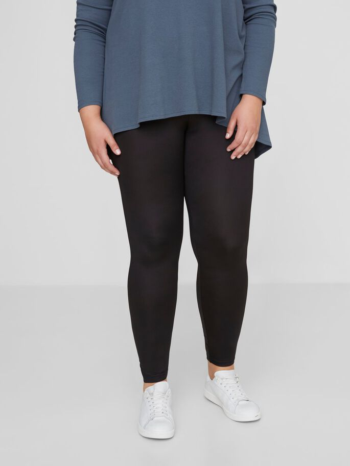 LANGE LEGGINGS, Black, large