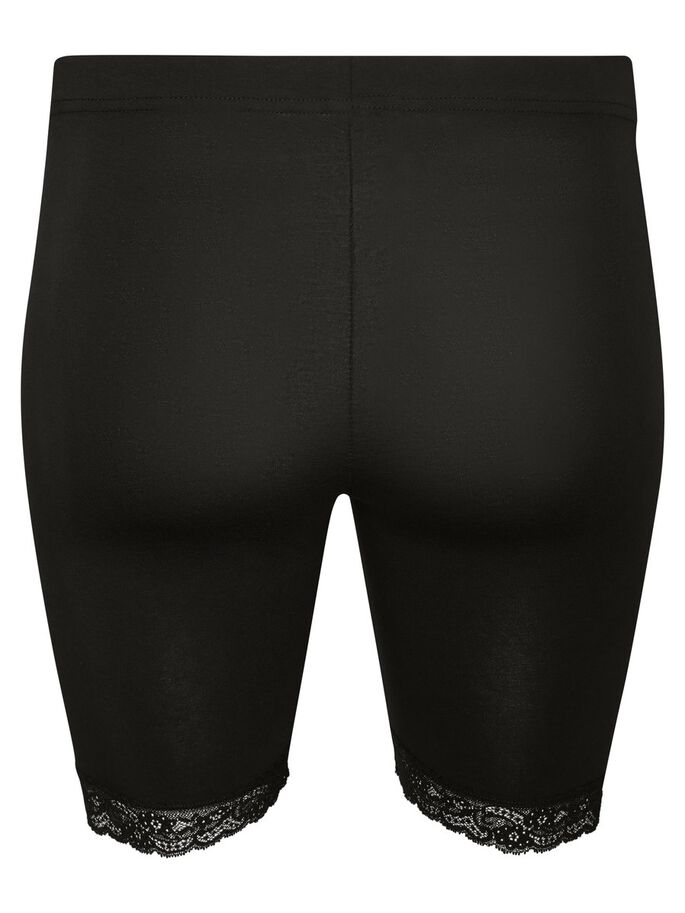 SLIM SHORTS, Black, large