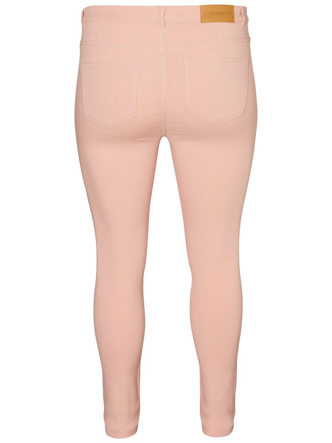 SLIM- JEANS, Peach Beige, large