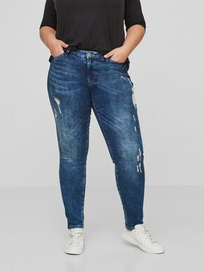 SLIM-DESTROYED- JEANS