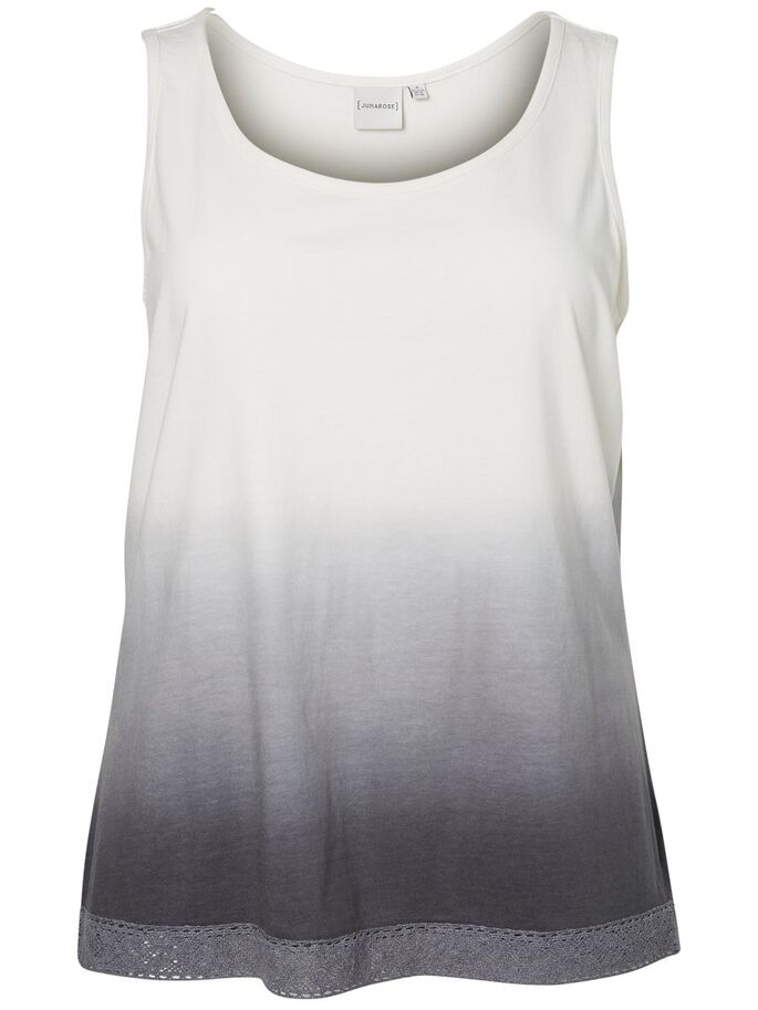 DIP-DYE TANKTOP, Snow White, large