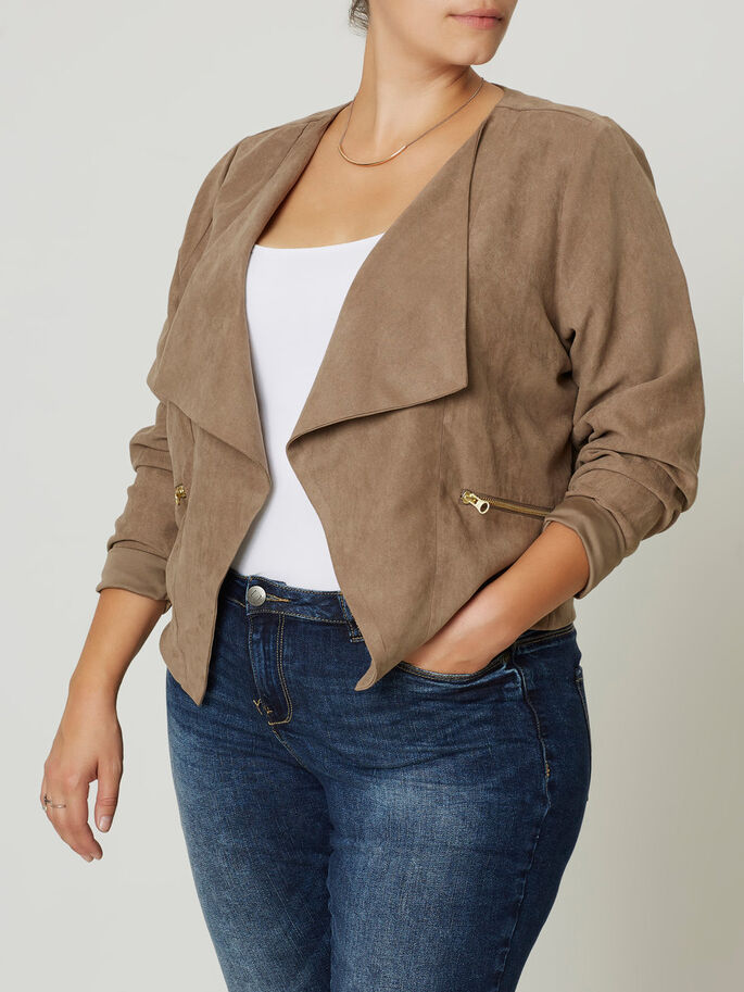 RUSKINDS LOOK BLAZER, Fossil, large