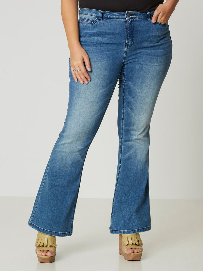 JRTWIG FLARED JEANS, Medium Blue Denim, large