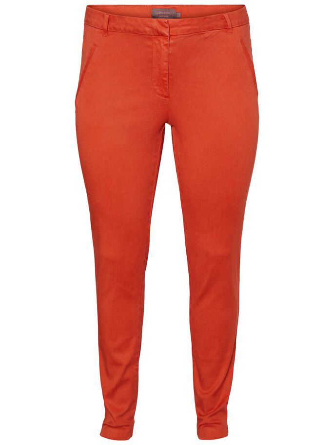 REGULAR WAIST TROUSERS, Grenadine, large
