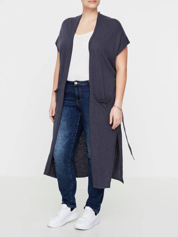 MOUWLOOS GILET, Ombre Blue, large