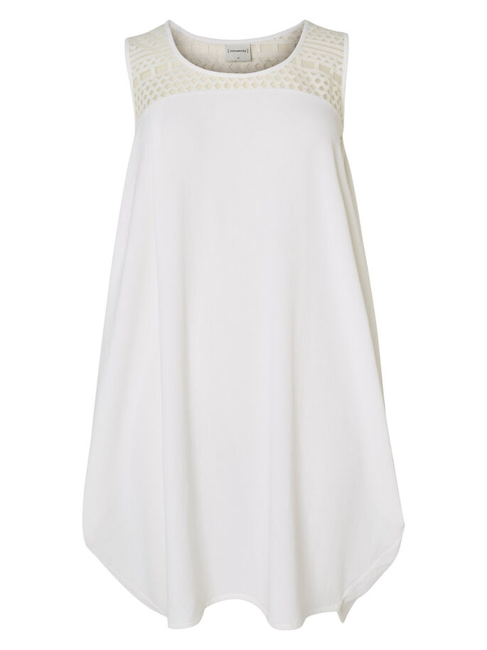 STRUCTURE DÉCORATIVE ROBE, Bright White, large