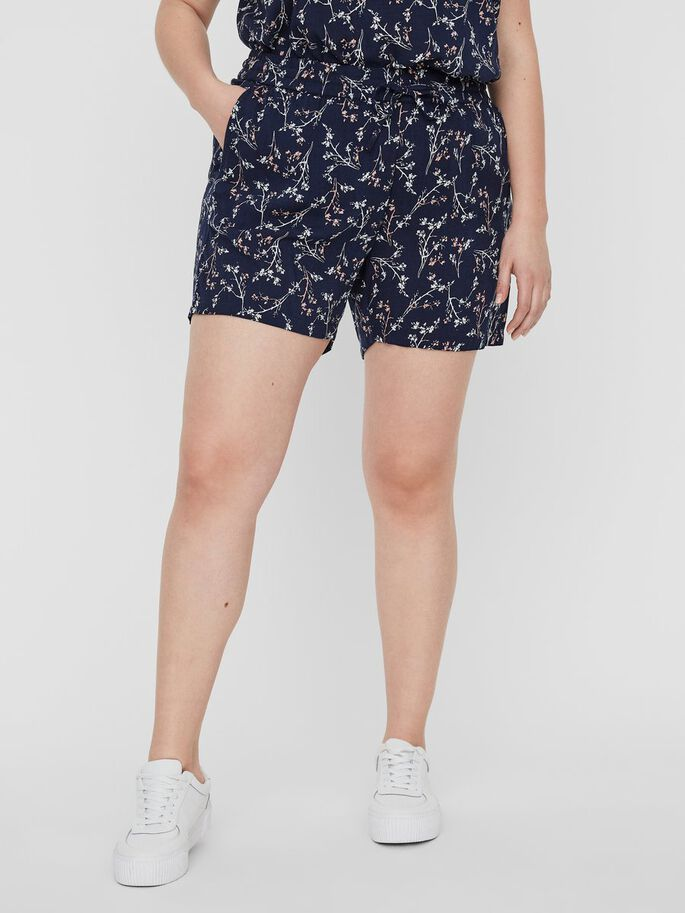 PRINTED SHORTS, Navy Blazer, large